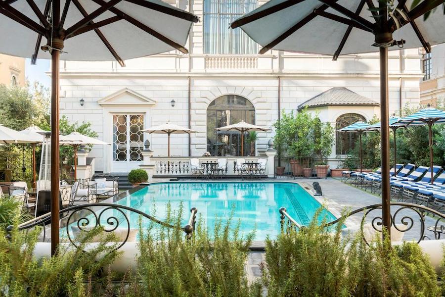 Hotel met zwembad in Rome: Palazzo Dama - Preferred Hotels & Resorts