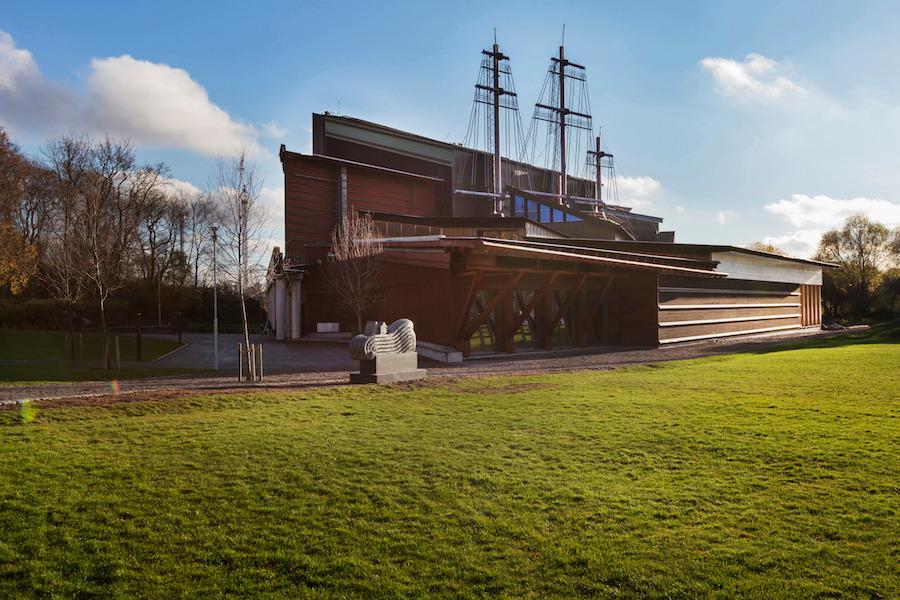 Vasa Museum in Stockholm, Zweden