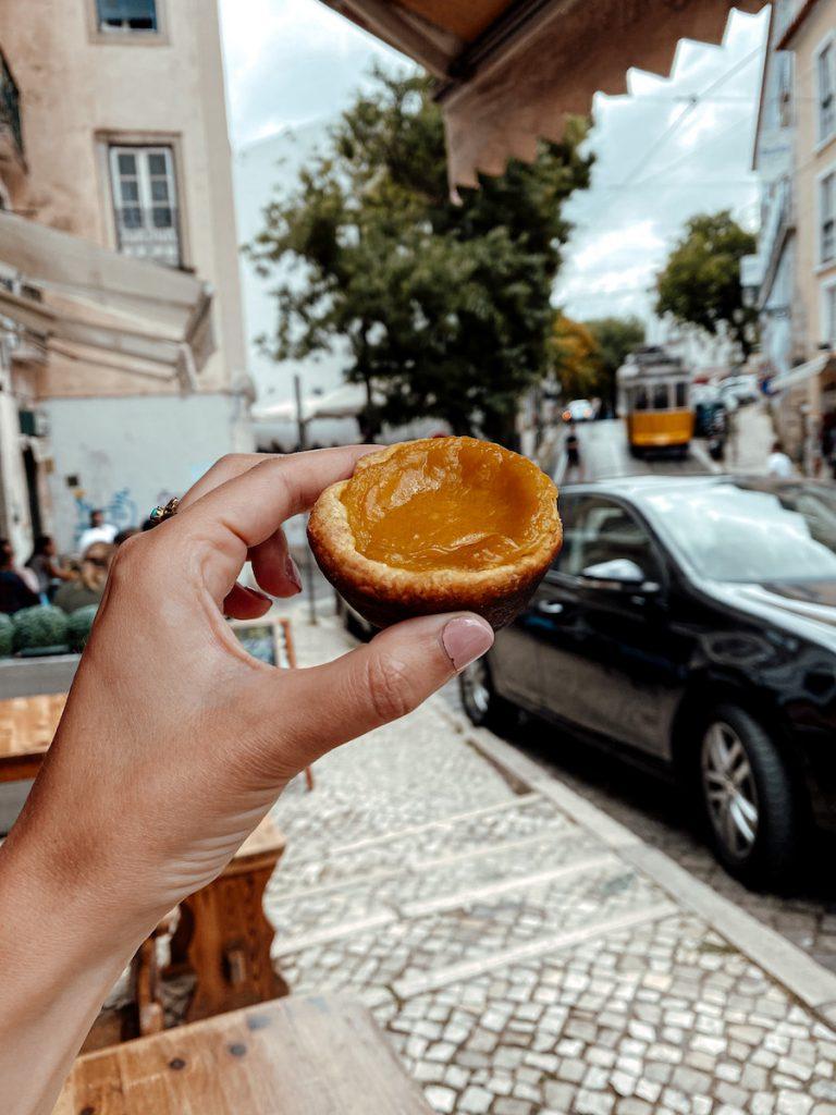 pastéis de nata in Lissabon