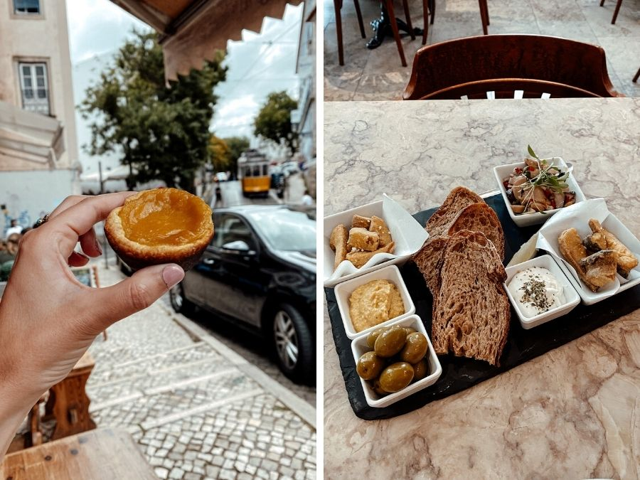 Vegan in Lissabon, Portugal