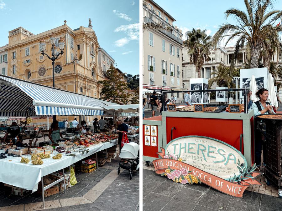 Doen in Nice: Cours Saleya