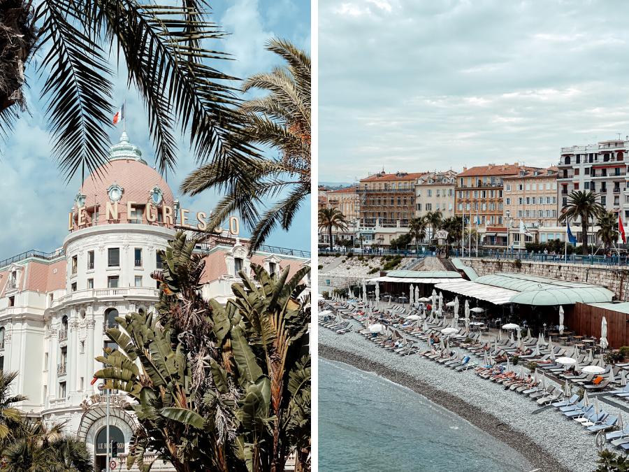 De Promenade des Anglais in Nice