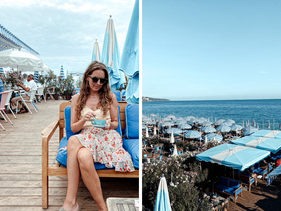 Doen in Nice: strand