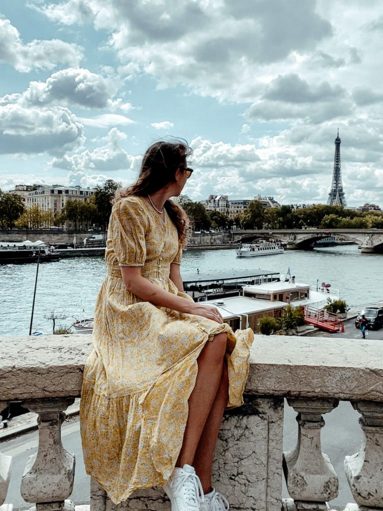 Instagram foto spot in Parijs: Pont Alexandre-III