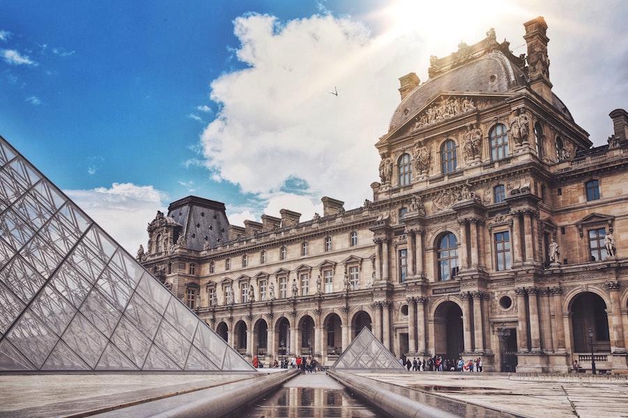 Instagram foto spot in Parijs: Het Louvre