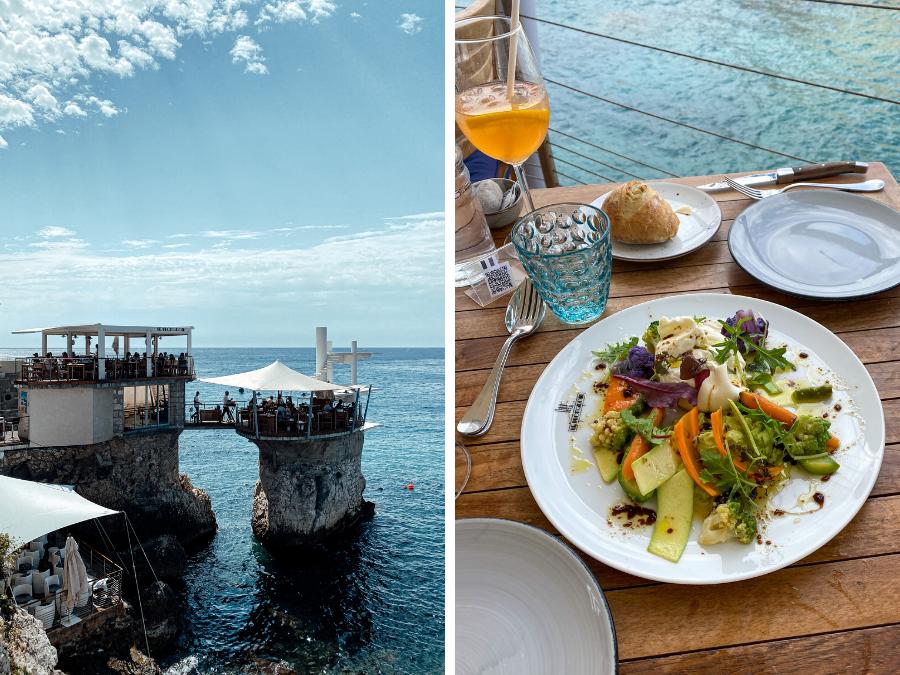 Doen in Nice: eten bij restaurant Le Plongeoir